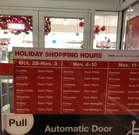 In Case You Were Wondering, Holiday Shopping Starts On October 28