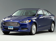 Ford claims the Fusion Hybrid gets 47 mpg. The Consumer Reports test puts that number at 39 mpg.