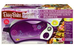 The purple Easy-Bake Oven that inspired the petition.