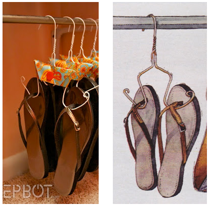 On the left is the photo that Jen posted in April 2011 on Epbot.com. The image on the right is from a recent issue of Redbook, which did not credit a source.