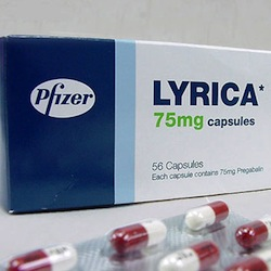 Lyrica is one of two drugs involved in the lawsuit.