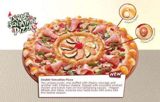 A pizza so horrifying, we might need to try it.