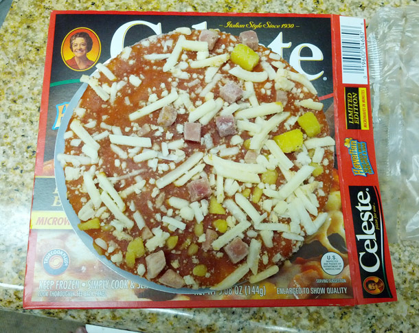 Celeste Hawaiian Pizzas Add Some Pineapple, Still Have Sparse Toppings