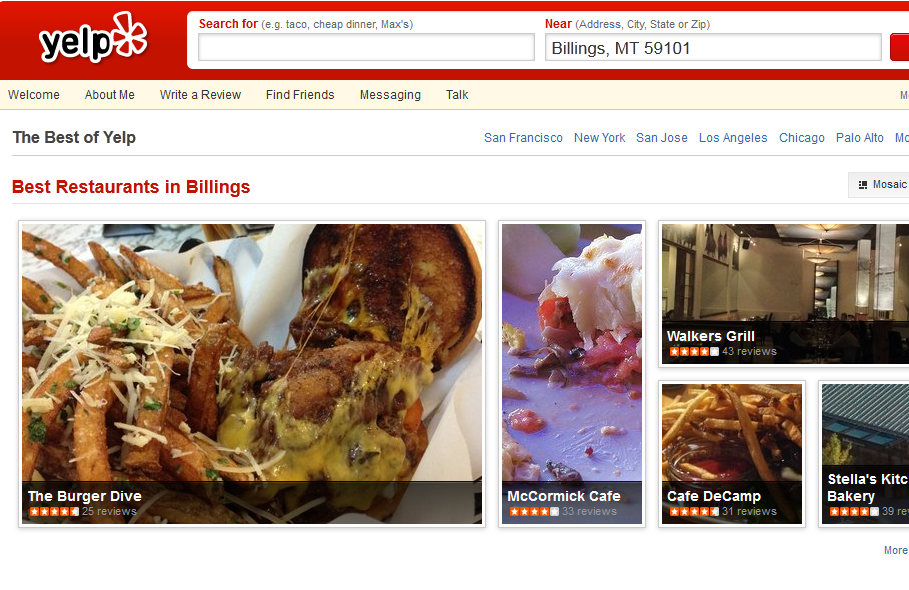 "Zimmern calls Yelp a ""forum for a bunch of uninformed morons."""