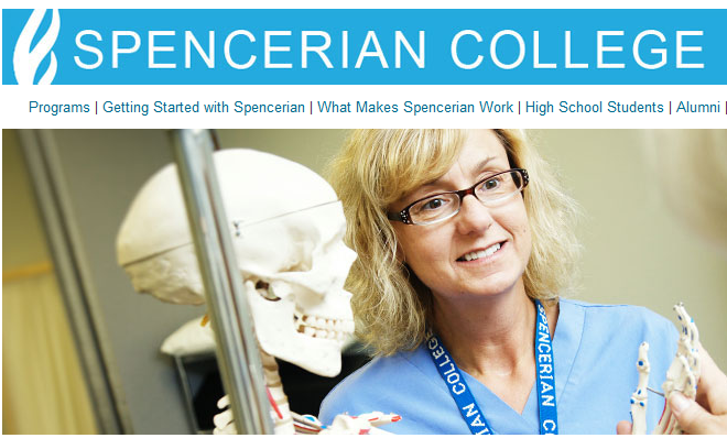 Spencerian College, with two campuses in Kentucky, has been sued by the state's Attorney General's office.