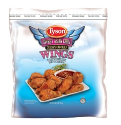 Two men are charged with stealing 10 pallets of Tyson chicken wings.