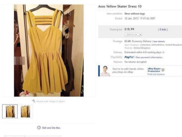 If You're Going To Include Yourself In eBay Photos, Make ...