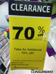 Michaels Employee Clarifies Confusing Clearance Sign