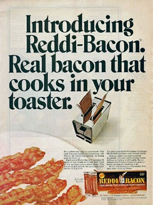 Yay, bacon! But also, no.