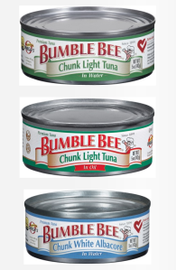 Just a few of the tuna products being recalled by Bumble Bee.