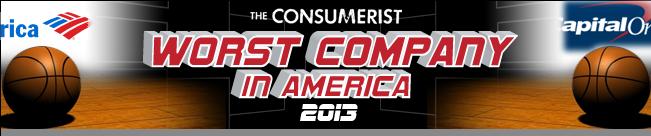 Worst Company In America Round 1: Bank Of America Vs