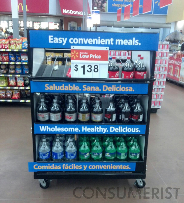 Soda At Walmart Is Wholesome, Healthy, Delicious, Or One Out Of Three
