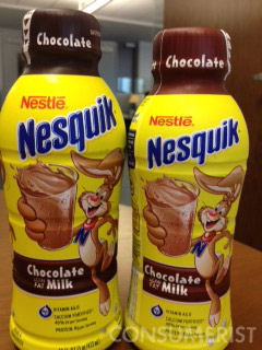 Maybe You're Better Off With 2 Fewer Ounces Of Nesquik Chocolate Milk, But It's Still Sad