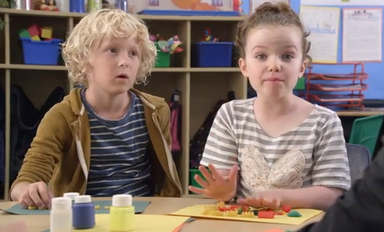 How Unscripted Are Those Kids' Responses In The AT&T Ads?