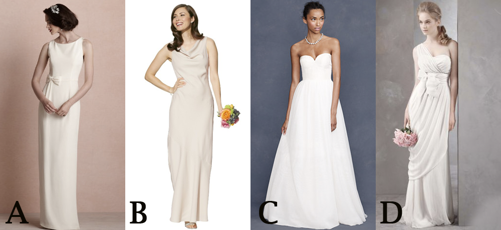 Think You Can Tell A $99 Wedding Dress From An $1,800 One?