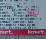Kmart Gives Me BP Coupon For 30 Cents Off Gas. Excluded Items: Fuel