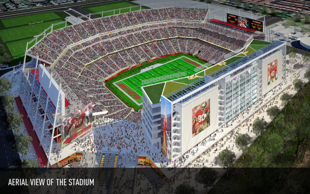 The new football stadium for the 49ers will have the Levi's name on it.