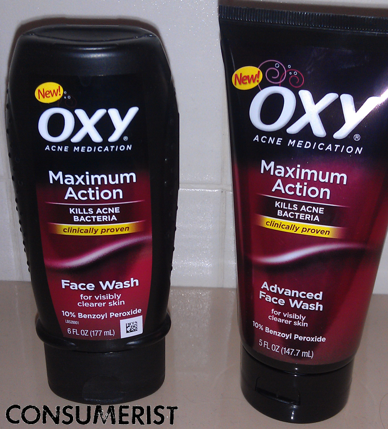 Has OXY Face Wash Been Zapped By The Grocery Shrink Ray Consumerist