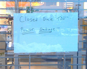Office Max Shuts Down Due To Power Outage That's Already Over