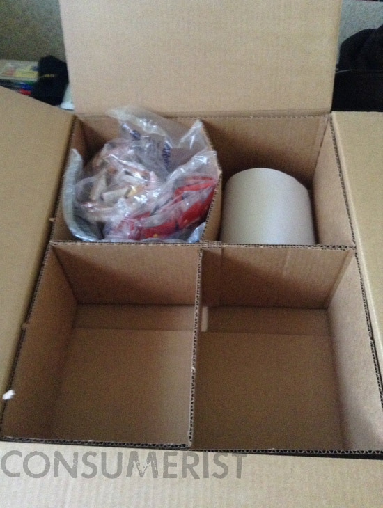 Amazon Packs Your Snacks Extra Safely In A Box Ten Times Too