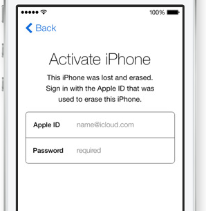 Once the remote kill switch is activated, the user will need to enter the owner's Apple ID and password, even if the SIM card is removed or replaced.