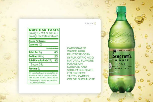 Ginger Ale To Shave Off Calories