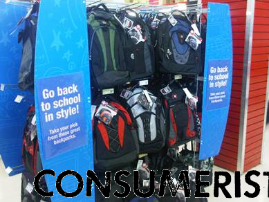 In 2010, a Consumerist reader found this back-to-school display at a Staples in June.