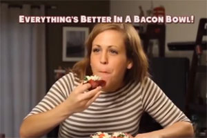 New And Exciting Products: Bacon Bowls Are What They Sound Like