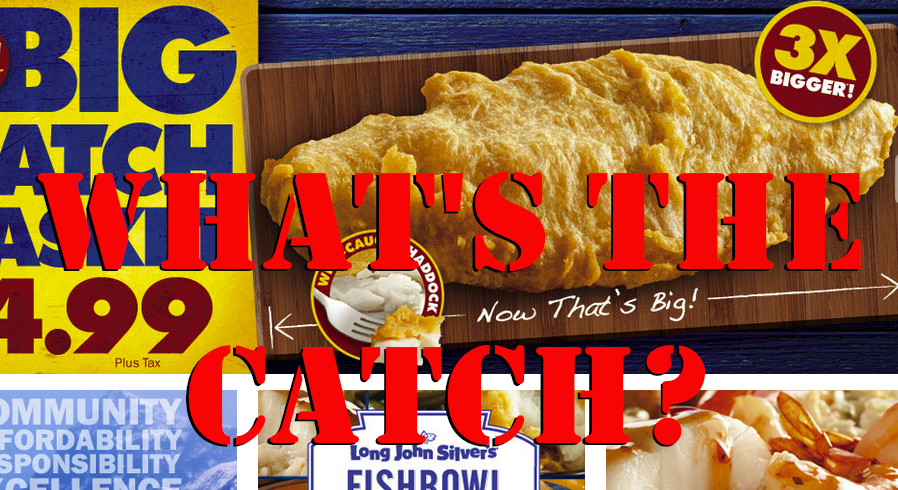 With 2 Weeks' Worth Of Trans Fat, Long John Silver's 'Big Catch' Dubbed Worst Restaurant Meal In America