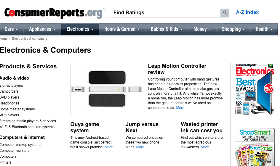 Hey Electronics Experts, Consumer Reports Is Hiring