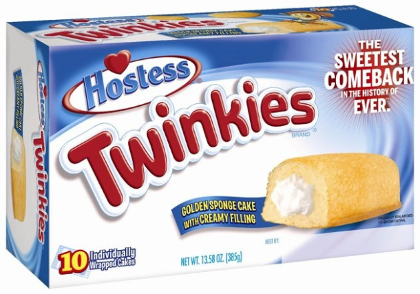 Twinkies, meet mouth. Mouth, meet Twinkies.
