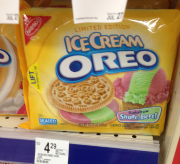 This Is Out Of Hand: Sherbet-Flavored Oreos Are A Thing