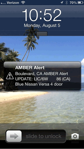 amber alert on iphone smartphone alert freaks out everyone in california 1225