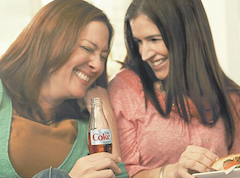 Mothers and daughters love laughing while discussing aspartame.