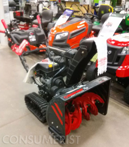August Is A Great Time To Buy A Snowblower