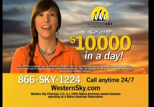 Online Payday Lender Western Sky To Stop Funding Loans Sept. 3