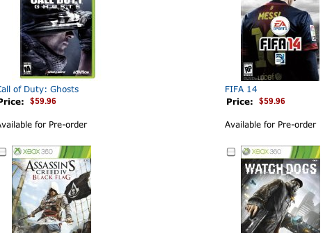 Amazon Offering $10 Game Trade-Ins For Customers Who Want To Upgrade Their Xbox