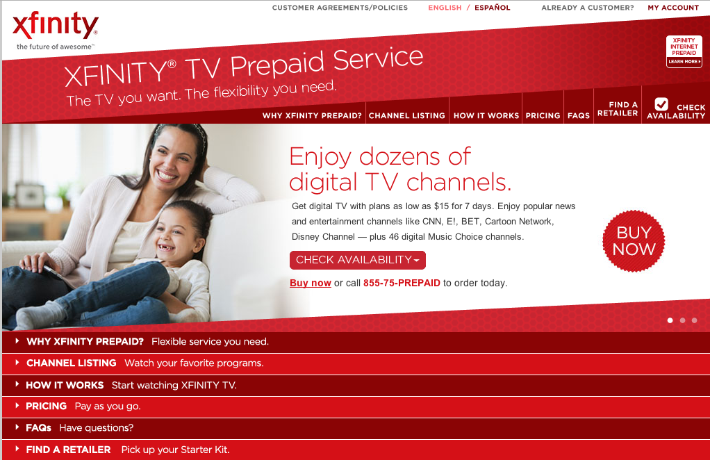 Comcast Now Testing Prepaid Cable Service, But With No Sports Channels Or HD