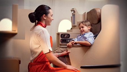 "United Arab Emirates' Etihad Airways has been training hundreds of attendants to be ""Flying Nannies."""
