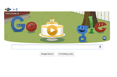Google celebrates the big 1-5 with a new algorithm.