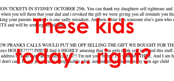 Angry Mom Punishes Daughters, Makes Profit, By Auctioning Off Their One Direction Tickets