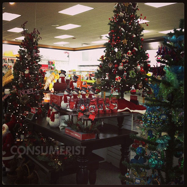 Christmas Creeps Up On This Kohl's Store
