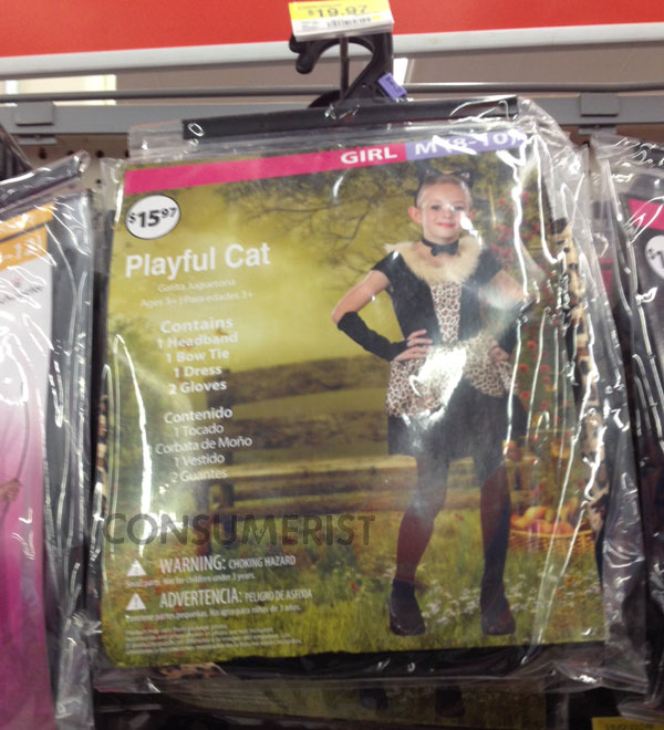 "Walmart Pulls ""Naughty Leopard"" Costume From Shelves, Will Research What Leopards Look Like"