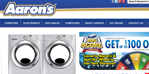 Aarons Agrees To Stop Snooping On Customers Via Rented Computers