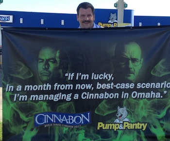 """Breaking Bad"" References Reach Real Cinnabon In The Real Omaha"