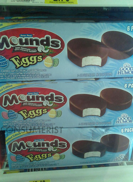 Mystery Solved: Mounds Easter Egg Ice Cream Is Really Old