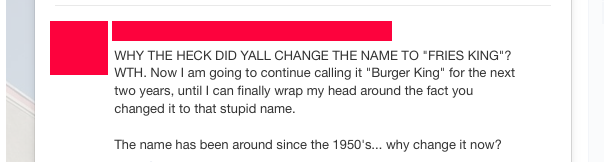 She won't give into your attempt to change the name, she just won't so don't try!