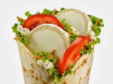 Lunch Envy: McDonald's France Offers Goat Cheese McWrap