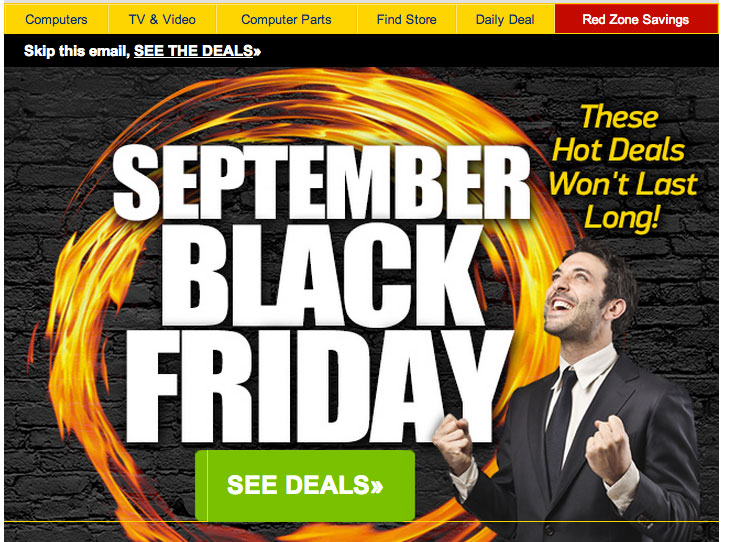 Marketers Make Black Friday A Monthly Occurrence