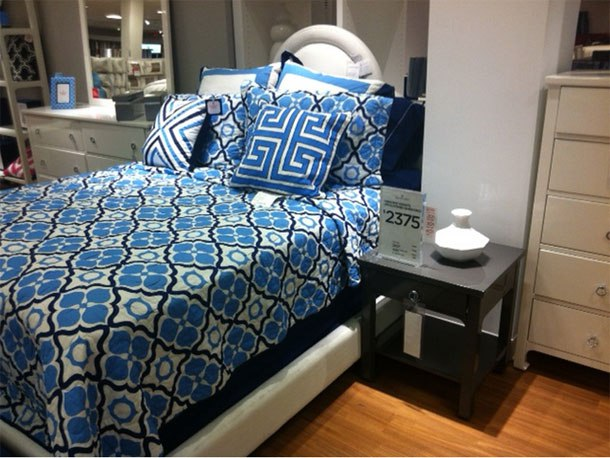 Who goes to JC Penney to spend $2375 on a bedding set? If you have that much to spend, you're not visiting a JC Penney store. If you're already in JC Penney, you don't want to spend $2375 on a bedding set.